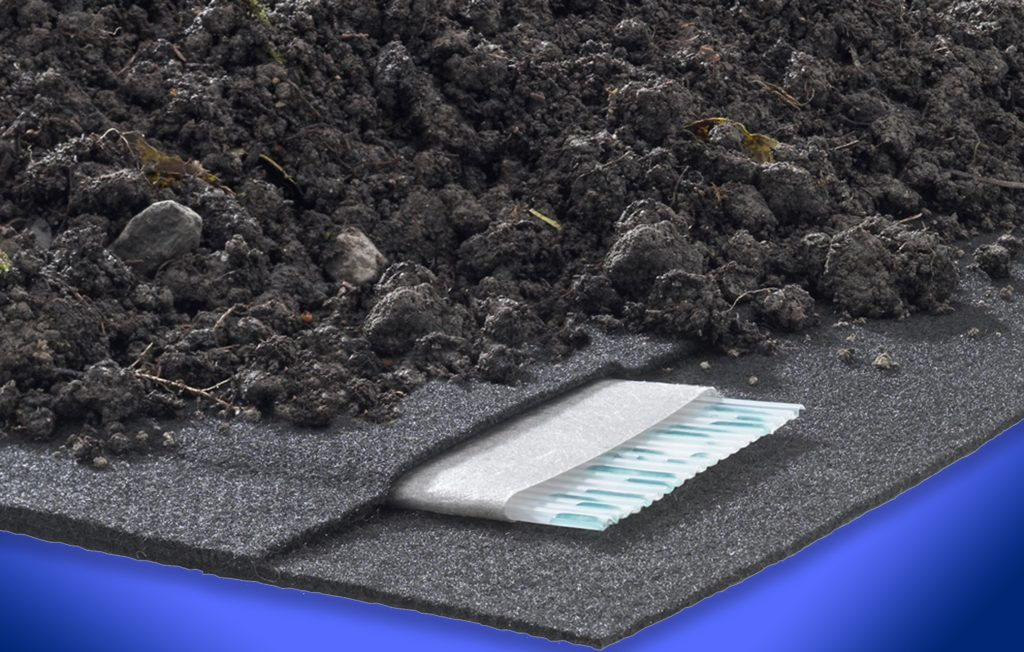 Geocomposite drainage