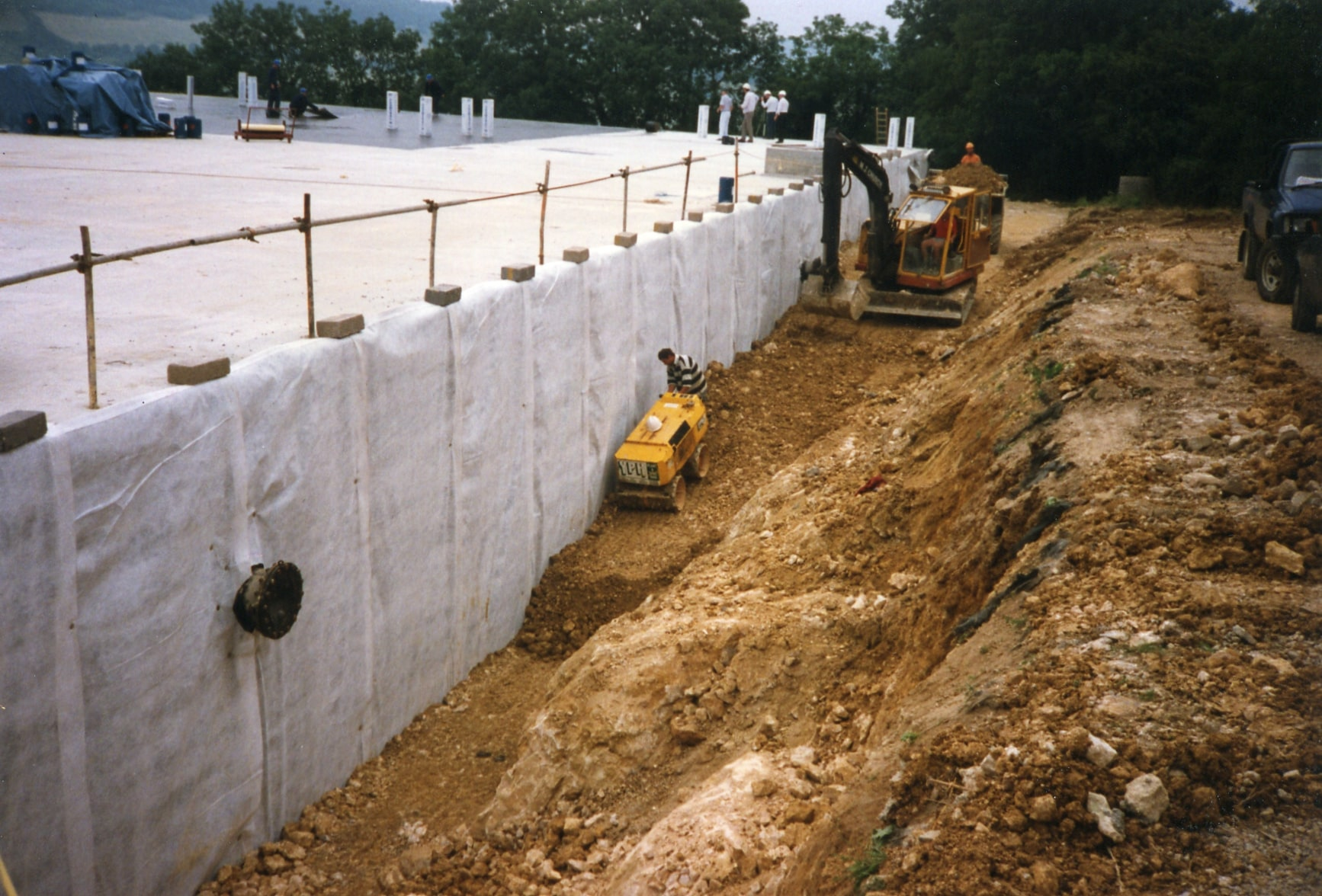 Structural drainage